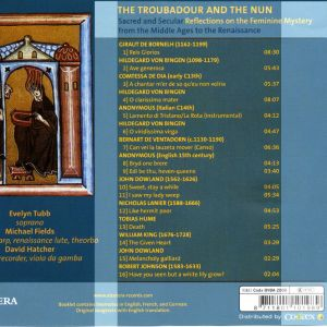 The Troubadour and The Nun text